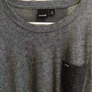 Hurley Sweaters - Like-new Hurley Long sleeve grey sweater
